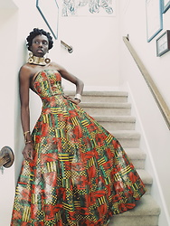 Latrenia Bryant - Lb Creations Home Sewn Gown - Designer, Model & Photographer
