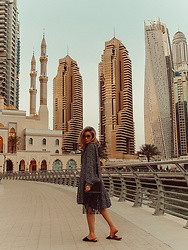 Joicy Muniz - Dress, Twinset Bag - Dubai