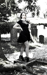 Joan Wolfie - Killstar Dress, Jeffrey Campbell Shoes - GOTH DOLL // Joan Wolfie
