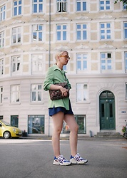 Nathalie R - Secondhand, Beck&Söndergaard Bag, Adidas Shoes - CPH