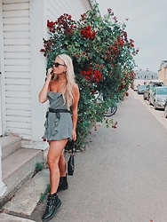 Emmy Nikolausson - Boohoo Jumpsuit, Dinsko Boots - BY THE STREETS ~