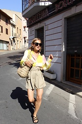Anna Borisovna - Mango Shirt, Mango Short, Nomadic State Of Mind Shoes, Arket Bag - The Summer Shirt