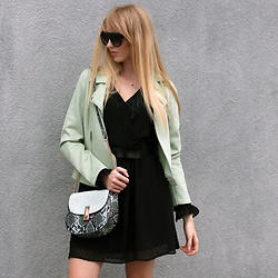 Diane Fashion - Orsay Total Look - MINT and black | Orsay total look