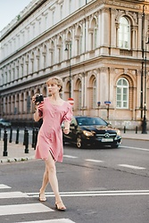 Ani Łatyńska - Chic Wish Linen Dress - Pink