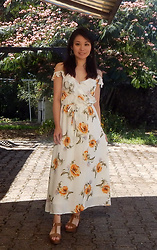 Nowaki Selenocosmia -  - Maxi summer dress