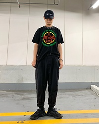 ★masaki★ - The Clash Guns Of Brixton, Adidas Ozweego, Kollaps 電子音楽 Cap - GUNS OF BRIXTON