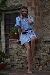 Tata.Tlmc Tolmaci - H&M Dress, Gucci Bag - Blue dress II