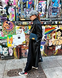 Karina Bogdan - Furla Bag, Hugo Boss Coat, Massimo Dutti Pants, Comme Des Garçons Sneakers, Zara Top - Brick Lane.