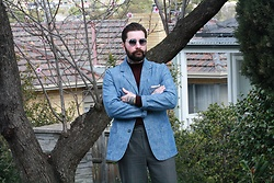 Jared Acquaro - Vetra Denim Blazer - Casually Tailored