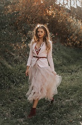 Madame Marcelline - Renne Tulle Skirt - Tulle skirt -autumn outfit