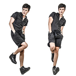 Vini Uehara - Guidomaggi Sneakers, Guidomaggi California Black - BLACK