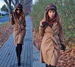 Jointy&Croissanty © - Femmeluxefinery Coat - Warm tones