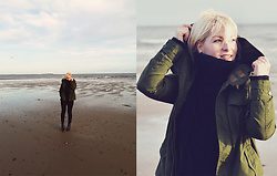 Anca Varsandan - Zaful Sweater, Zaful Boots - Leven, Scotland