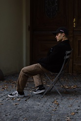 Kevin Elezaj - Vans Sneakers, Folk Pants, Filippa K Jacket, Wood Cap - Pasta