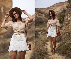 Viktoriya Sener - Chic Wish Top, Chic Wish Skirt - CAVE ADVENTURES