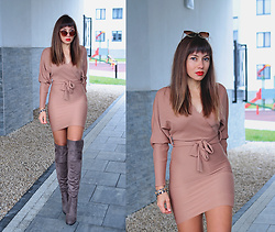 Jointy&Croissanty © - Femmeluxefinery Dress - Wrap dress