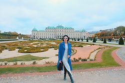 Cassey Cakes - H&M Dress, Mango Boots, Mango Bag - Vienna's Palaces (New Post)
