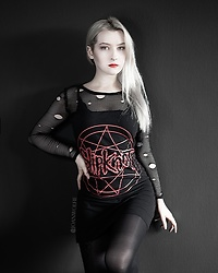 Joan Wolfie - Backstage Rock Dress - SLIPKNOT // Joan Wolfie