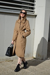Elisabeth Green - Femmeluxe Coat - Brown is the new Black