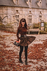 Dépêches Mode - Mad Vintage Dress, Mad Vintage Bag - L'automne à Creully