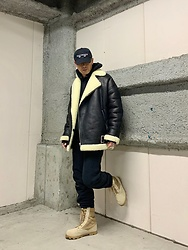 ★masaki★ - Asos Shalingjacket, Champion Sweat Pants, Rothco Military Boots - Shaling Season