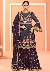 Alish Joseph - Fashionable Indian Palazzo Dresses - Fashionable Indian palazzo dresses