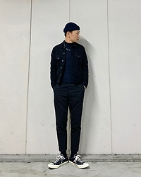 ★masaki★ - Neuw Denim Jacket, Neuw Denim Chino, Converse Ct70 - Neuw Denim