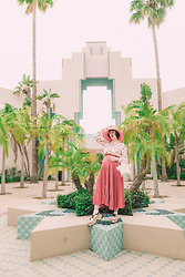 Amy Roiland - Mutma Shoes, Atlantic Pacific Bag - Reach for the stars