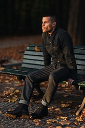 Kevin Elezaj - Levi's® Boots, Levi's® Pants, Levi's® Shirt - Autumn light