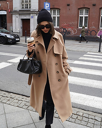Kasia Szymków -  - The Perfect Winter Trench Coat