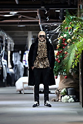 INWON LEE - Byther Leopard Pattern Mink Cardigan, Byther Leopard Pattern Mink Muffler, Byther Mink Fur Hooded Coat - Chic Leopard Mink Cardigan
