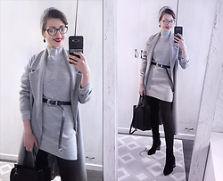 Malinina-ek - - Femmeluxefinery Dress - Grey