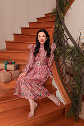 Lisa Valerie Morgan - Sister Dress - Sister Jane Pink Floral Dress