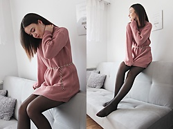 Sabina S. -  - PINK JUMPER DRESS