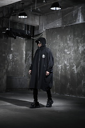 INWON LEE -  - Black Skull Rain Coat