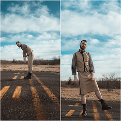 ⋆✞ david ross lawn ✞⋆ - Manasquan Dry Goods Two Piece Suit - 𝔩𝔞𝔫𝔡𝔦𝔫𝔤