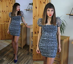 Jointy&Croissanty © - Femmeluxefinery Dress - Leopard print dress