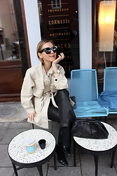 Anna Borisovna - Second Female Jacket, Inwear Pants, Arket Bag, Mango Shoes - The Beige Jacket