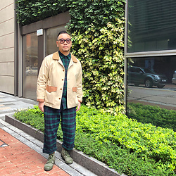 Mannix Lo - Online Shop Hunting Jacket, Uniqlo Checkers Shirt, Uniqlo Checkers Pants, Online Shop Army Trainers - Lose HOPE, just when you think it's over...