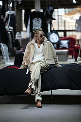 INWON LEE - Guidomaggishoes Shoes, Byther Trench Coat, Byther Slacks Pants - The Final Piece For Fashion Is The Shoes