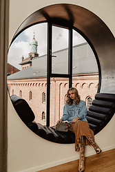 Joicy Muniz - Vivetta Knit, Mykke Hoffman Skirt, Agl Boots - Copenhagen views