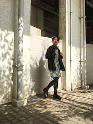 Fannyhyy - Vintage Jacket, Vintage Dress - Early Spring