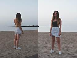 Jenny - Femmeluxe Top, Shein Skirt, Nike Shoes - SUNRISE
