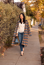 Lisa Valerie Morgan - Urban Outfitters Coat - It's All About the Statement Coat