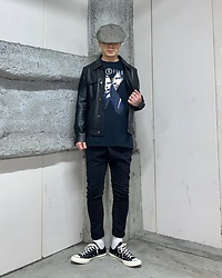 ★masaki★ - Newyork Hat Casquette, X Files The X Files, R13 Denim Jeans, Converse Ct70 - The X-files