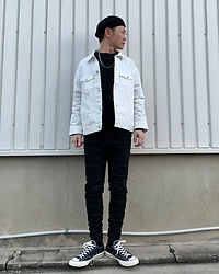 ★masaki★ - R13 Denim Jeans, Converse Ct70, Vitaly Necklaces - Simple Fits