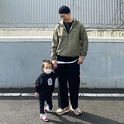 Covernat _kr -  - Daddy & baby couple fashion