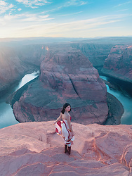 Cassey Cakes - Mango Dress, H&M Boots - Horseshoe Bend