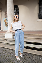 Anna Borisovna - Mango Top, Mango Jeans, Mango Shoes - The Denim Pants