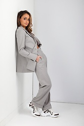 Lauren Recchia - Theory Trousers, Theory Blazer - Polished Cool